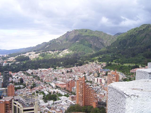 Bogota, Colombia, Mountain, Architecture, Skyline, City