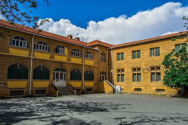 Architecture, Building, Colonial Style, Facade, Old