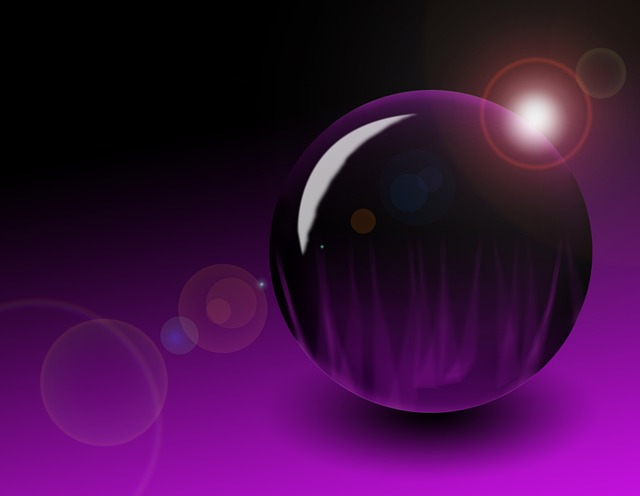 Ball, Purple, Background, Abstract, About, Form, Color