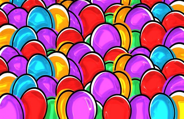 Easter Eggs, Easter, Paint, Painting, Egg, Art, Color