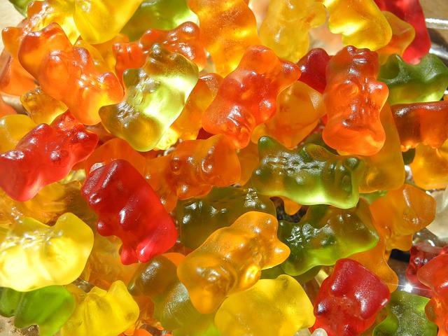 Candy, Children, Sweet, Bear, Color, Gummi Bears