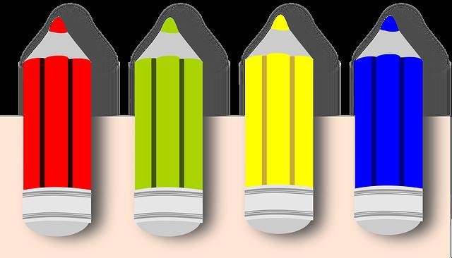 Pencil, Colors, Colored Pencil, Color