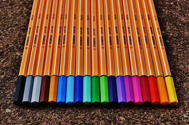 Pens, Colour Pencils, Colored Pencils, Color, Colorful