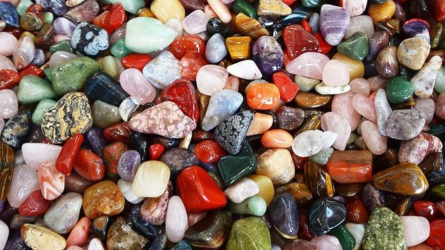 Stones, Colorful, Deco, Color, Gems