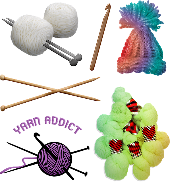 Crochet, Knit, Wool, Knitting, Hobby, Color, Fluffy