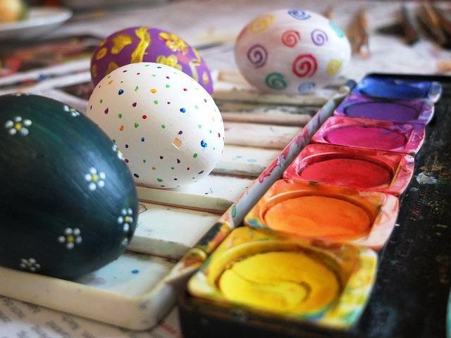 Easter Egg, Color, Paint, Egg, Creative, Easter