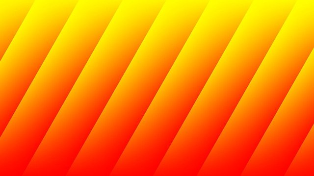 Graphics, Gradient, Orange, Red, Yellow, Color, Strips