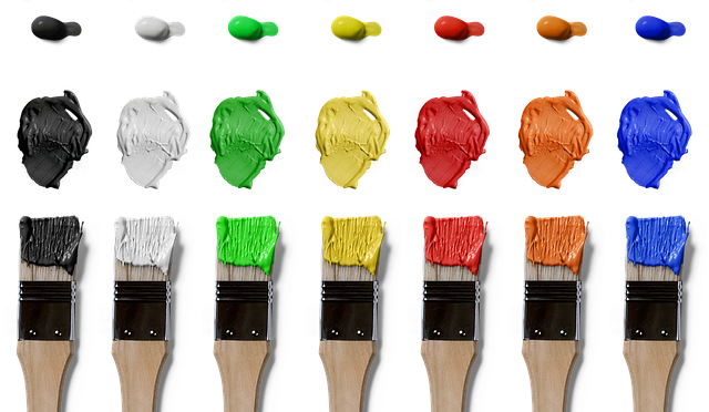 Brush, Color, Isolated, Farbkleckse, Art, Art And Craft