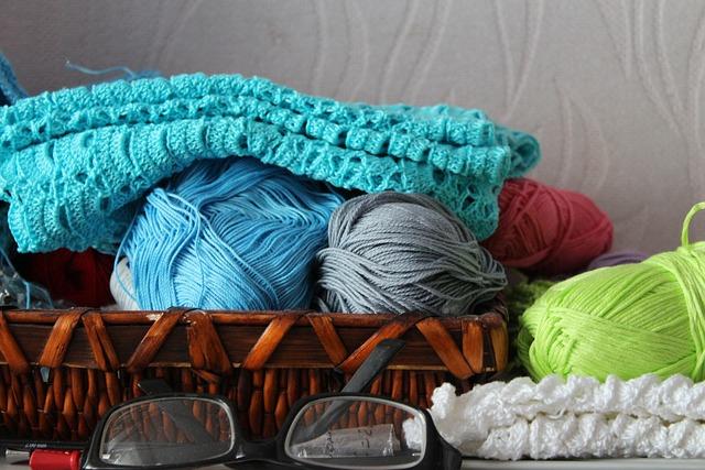 Needlework, Yarn, Knitting, Color