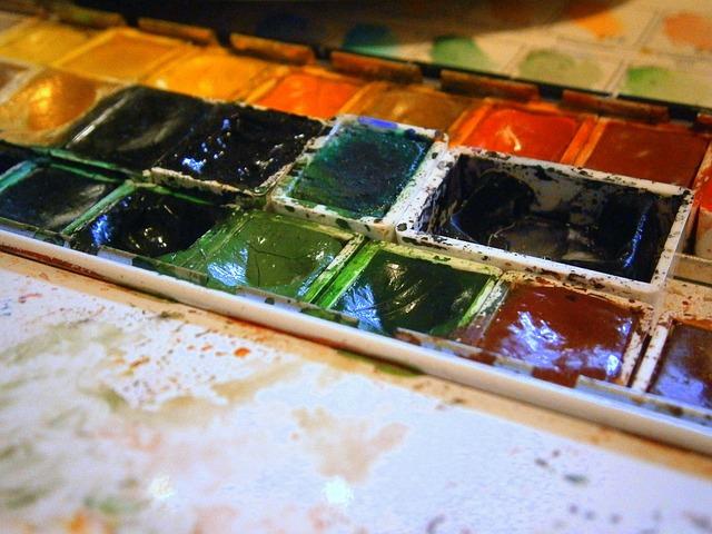 Watercolour, Watercolor Box, Color, Malkasten