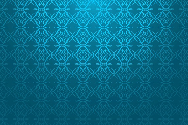 Mosaic, The Background, Blue, Texture, Graphics, Color