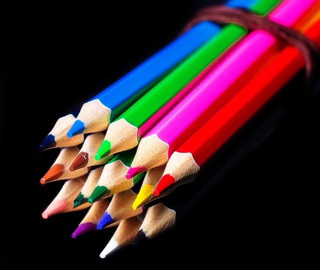 Pencil, Color Pencils, Color, Yellow, Red