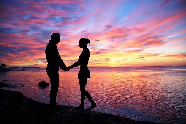 Couple Love, Sky, Color, People, Love