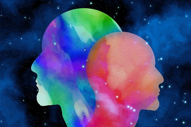Head, Watercolor, Background, Color, Psychology, Space