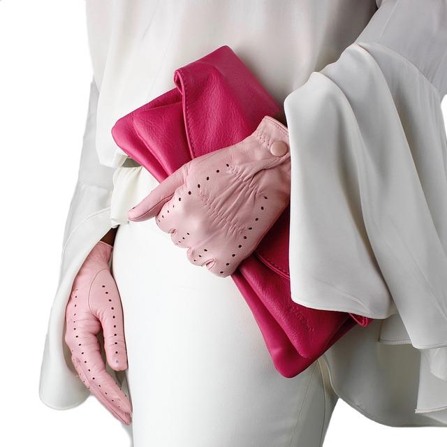 Bag, Hands, Gloves, Orange, Leather, Color, Skin