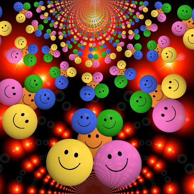 Smiley, Laugh, Funny, Cheerful, Colorful, Color