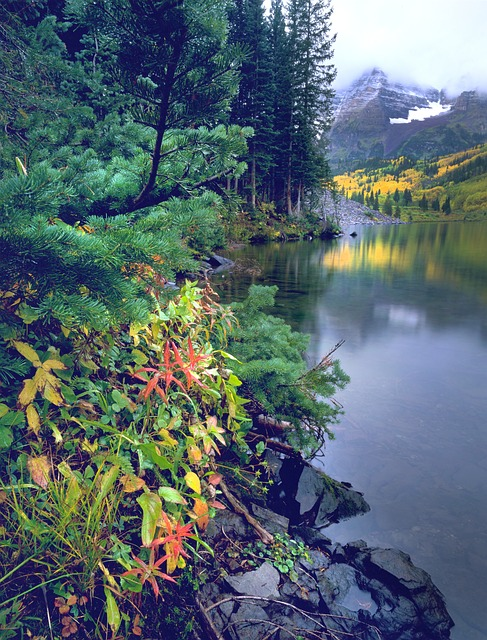 Free photo Nature Maroon Bells Colorado Aspen - Max Pixel