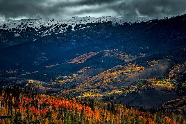 Rocky Mountains, Colorado, Rockies, Snow, Sky, Clouds