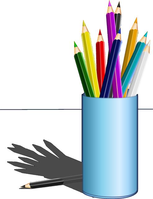 Pencils, Colored Pencil, Box, Pencil Box, Drawing