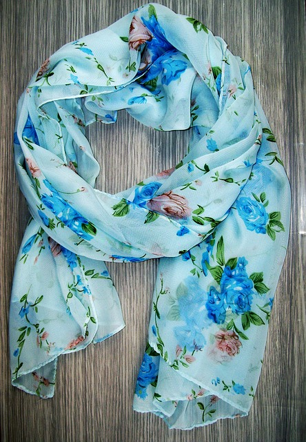 A Neckerchief, Scarf, Material, Colorful, Clothing