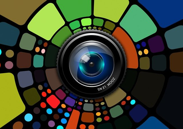 Lens, Colorful, Background, Digital, Focus, Camera