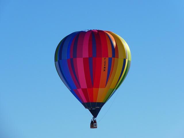 Hot Air Balloon, Balloon, Colorful, Wind