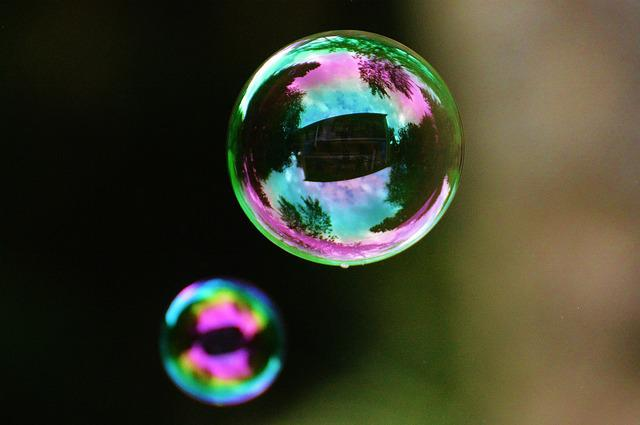 Soap Bubbles, Colorful, Balls, Soapy Water