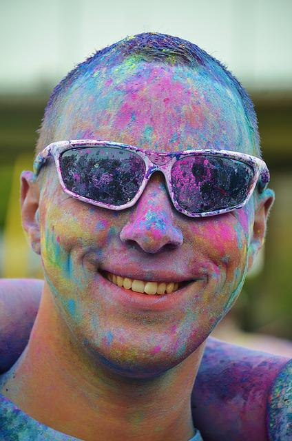 Man, Boy, Colorful, Painted, Male, Funny, Celebration