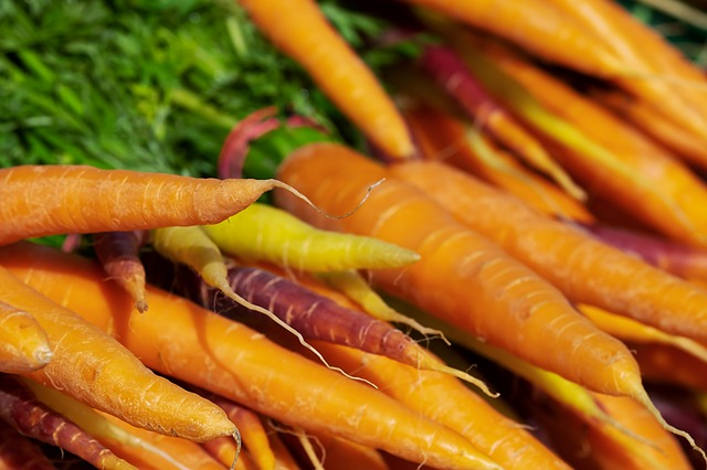Colorful Carrots, Carrots, Vitamins, Nutrition
