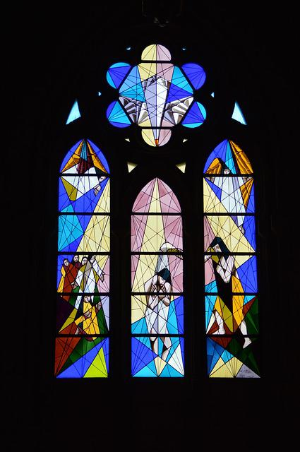 Church, Glass, Church Window, Colorful, Christianity