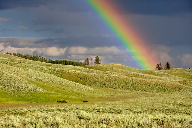 Clouds, Colorful, Colourful, Countryside, Fields