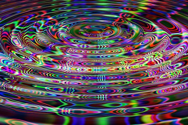 Wave, Line, Colorful, Brush, Particles, Color, District