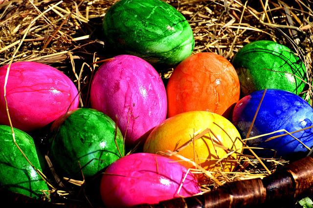 Egg, Colored, Colorful, Easter, Easter Eggs
