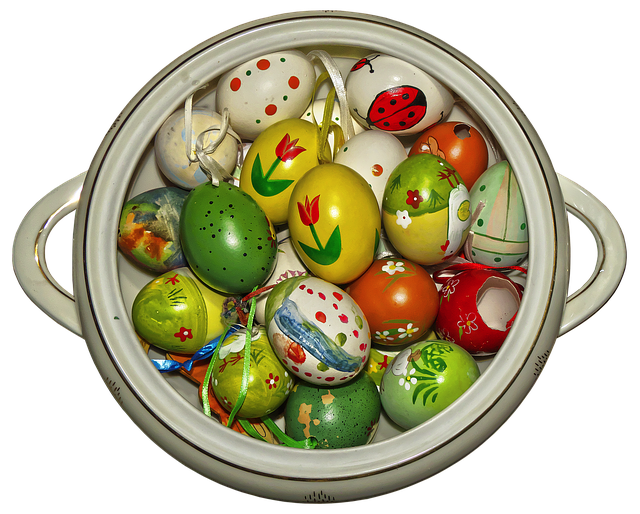 Easter Decoration, Easter Eggs, Egg, Colorful Eggs