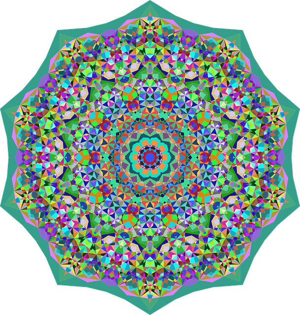 Colorful, Prismatic, Chromatic, Rainbow, Flower, Floral