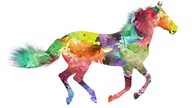 Horse, Colorful Horse, Painted Horse, Nice Horse