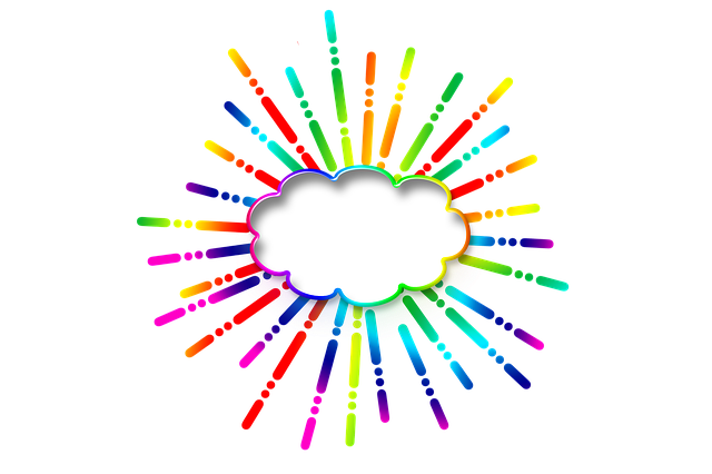 Icon, Star, Cloud, Balloon, Colorful, Rays, Radiate