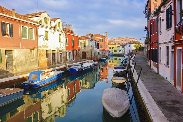 Murano, Venice, Painted House, Colorful, Italy, Color