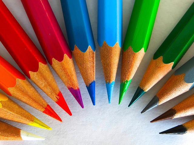 Colour Pencils, Color, Paint, Draw, Colorful, Embassy