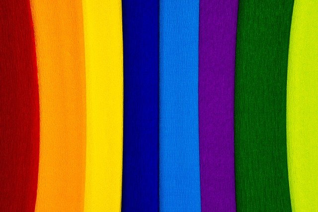 Paper, Crepe, Crepe Paper, Colorful, Color, School