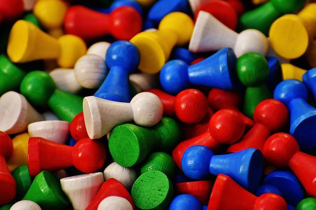 Play Stone, Colorful, Figures, Color, Wood, Play