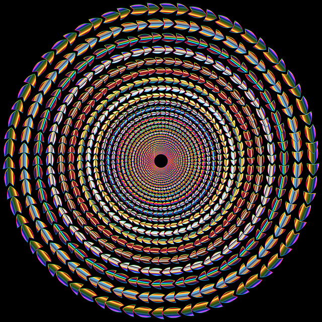 Colorful, Prismatic, Chromatic, Rainbow, Vortex