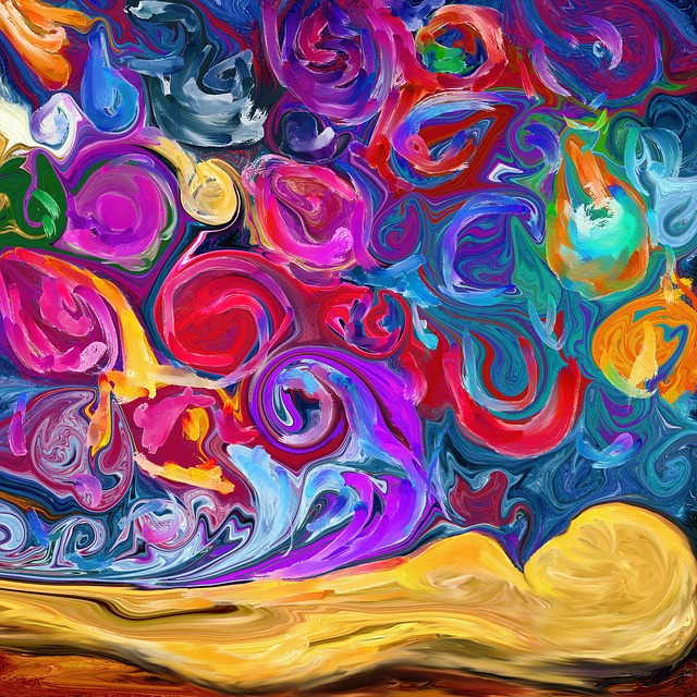 Colorful, Dreams, Psychedelic, Emotions, Abstract