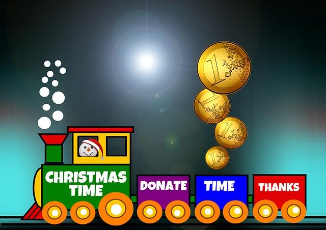 Toys, Railway, Train, Donation, Euro, Colorful