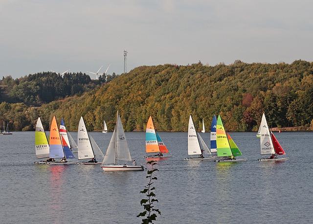 Sailing Boats, Regatta, Colorful Sailing, Catamarans