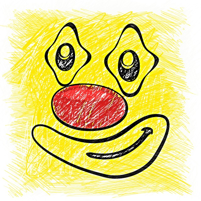 Smiley, Drawing, Colorful, Funny