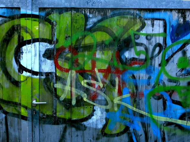 Graffitti, Goal, Colorful, Color, Sprayer, Spray
