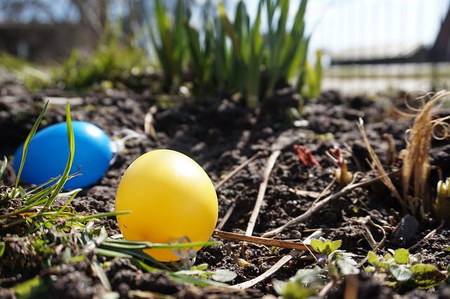 The Beginning Of Spring, Easter Egg, Easter, Colorful