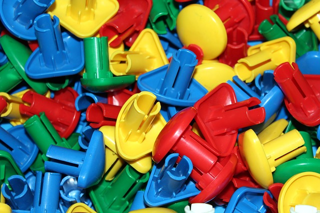 Pads, Plastic, Toy, Child, Play, Color, Colorful