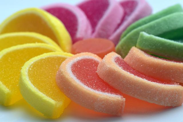 Sugar, Sweet, Jelly Fruit, Colorful, Nibble, Treat